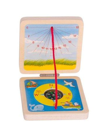 Peggy Diggledey - Zegar słoneczny i kompas