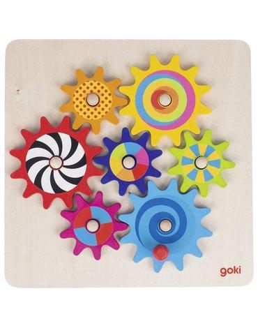 Goki® - Goki układanka koło zębate
