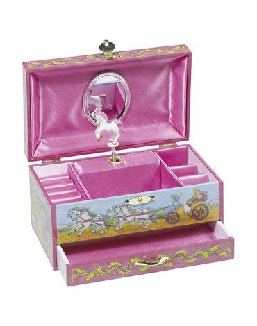 Goki® - Goki pozytywka z szufladką księżniczka z jednorożcem