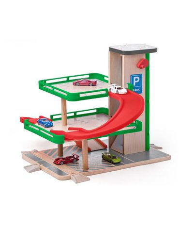 Woody - Zabawka dla chłopca Garaż z autkami SIKU