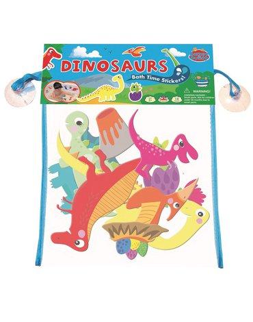 Buddy  & Barney - Naklejki do kąpieli dinozaury