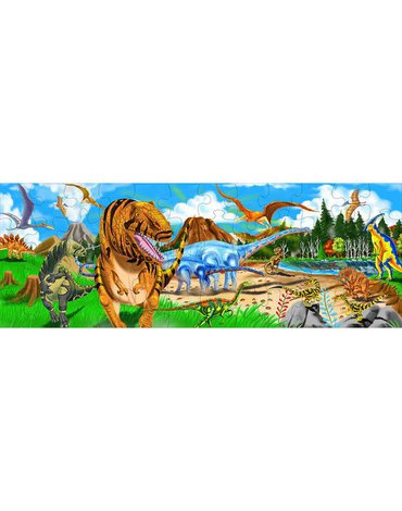 Melissa&Doug® - Puzzle podłogowe świat prehistoryczny 48el.