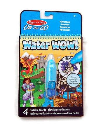Melissa&Doug® - Malowanka Kolorowanka wodna WaterWow przygoda