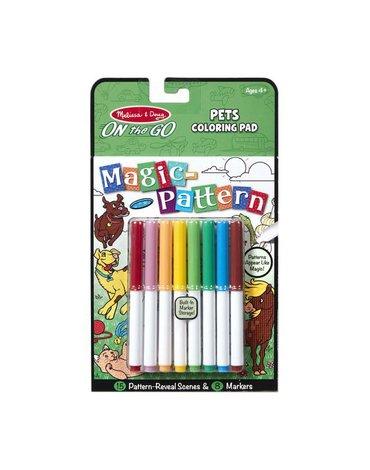 Melissa&Doug® - Melissa&Doug Magiczna kolorowanka Malowanka domowe zwierzęta