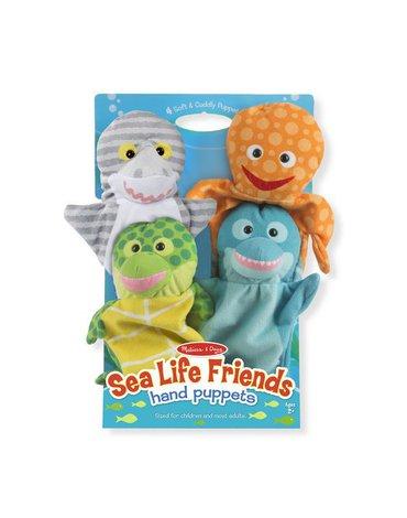 Melissa&Doug® - Pacynki na rękę morscy przyjaciele - 4 szt.