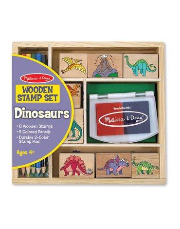 Melissa&Doug® - Zestaw Stempelki Dinozaury