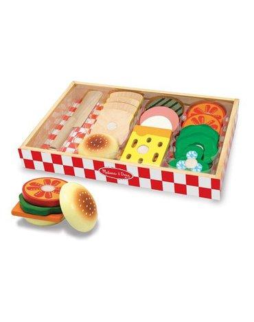 Melissa&Doug® - Zestaw śniadaniowy do robienia kanapek