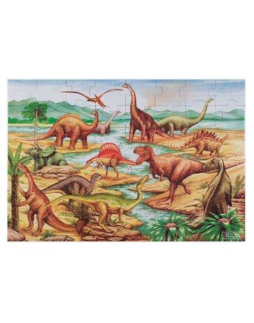 Melissa&Doug® - Puzzle podłogowe dinozaury 48el.