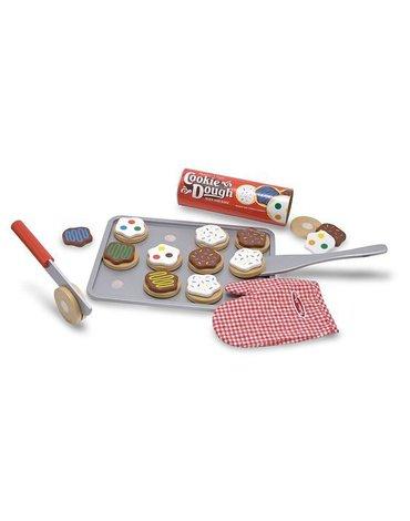 Melissa&Doug® - Drewniany zestaw do pieczenia ciasteczek Melissa&Doug