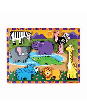 Melissa&Doug® - Melissa & Doug puzzle 3d  zwierzęta safari