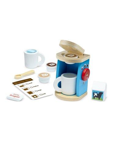 Melissa&Doug® - Zestaw do parzenia kawy z ekspresem