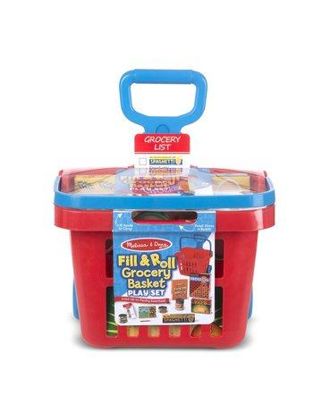 Melissa&Doug® - Koszyk marketowy z zakupami do zabawy w sklep