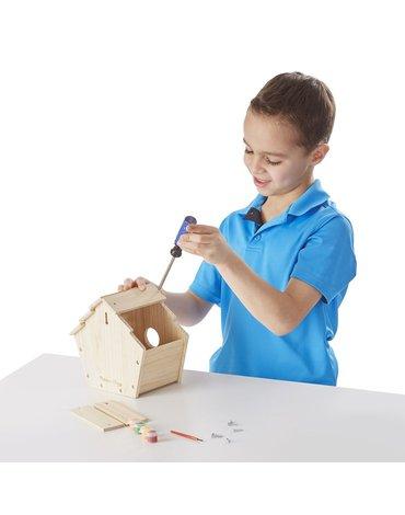 Melissa&Doug® - Zrób to sam - Drewniany karmnik dla ptaków