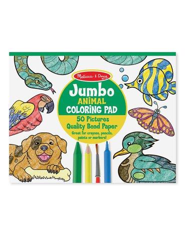 Melissa&Doug® - Duża kolorowanka zwierzęta – 50 arkuszy