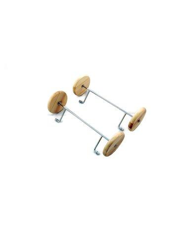 Nefere zabawki piasek - Koła do koników na biegunach - jasne