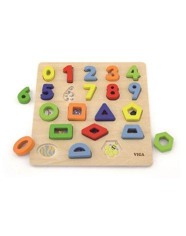 Viga - Układanka 3D kształty i cyfry