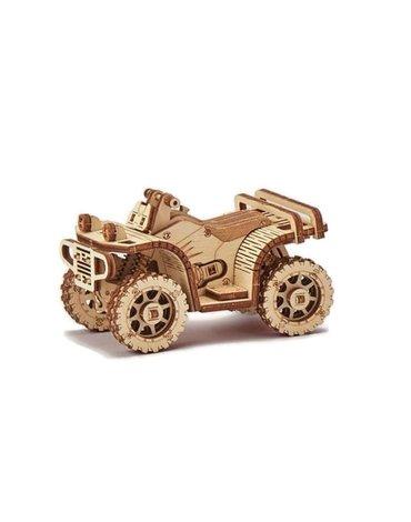 Wood Trick – Mechaniczne puzzle 3D-  Quad – ATV