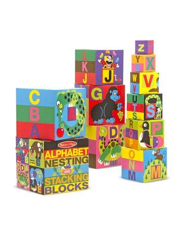 Melissa&Doug® - Piramida do układania z alfabetem