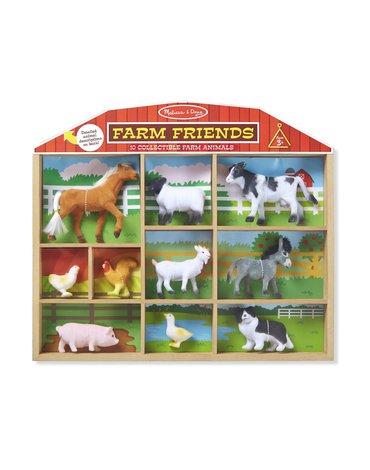 Melissa&Doug® - Przyjaciele z farmy – Zestaw 10 figurek