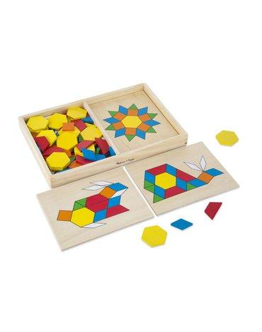 Melissa&Doug® - Układanka mozaika drewniana w pudełku