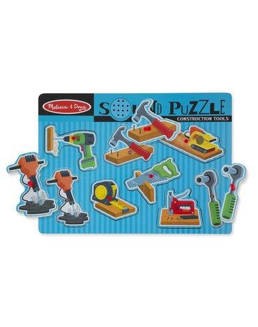 Melissa&Doug® - Puzzle dźwiękowe - narzędzia