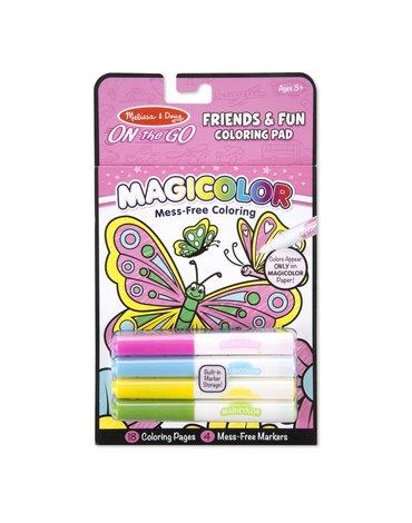 Melissa&Doug® - Magiczna kolorowanka Malowanka przyjaciele - Magicolor