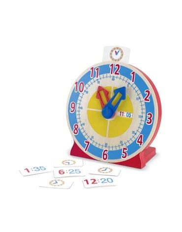 Melissa&Doug® - Zegar z kartami do nauki godzin