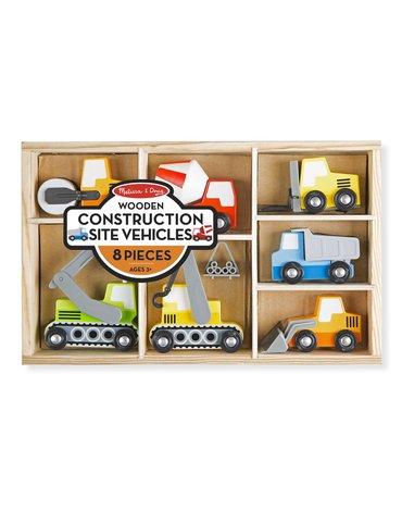 Melissa&Doug® - Pojazdy budowlane – zestaw 7 szt.