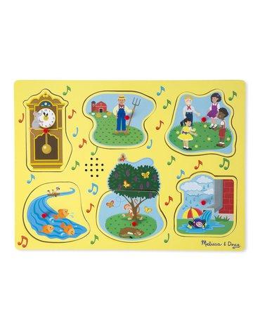 Melissa&Doug® - Puzzle dźwiękowe rymowanki