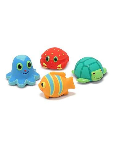 Melissa&Doug® - Gumowe zabawki do kąpieli - morskie stwory