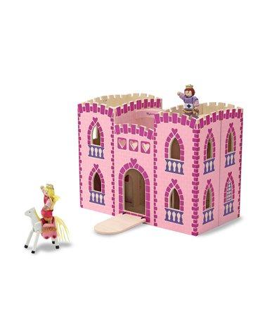 Melissa&Doug® - Zamek z figurkami różowy księżniczka