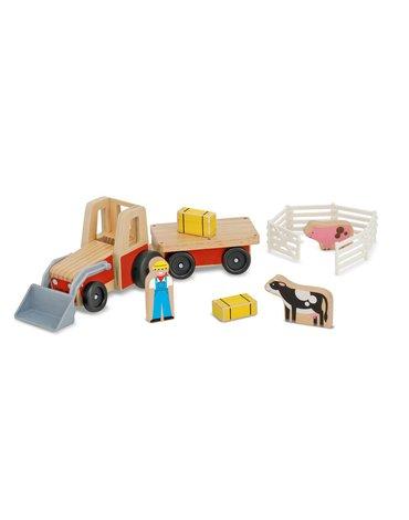 Melissa&Doug® - Traktor z przyczepką i figurkami