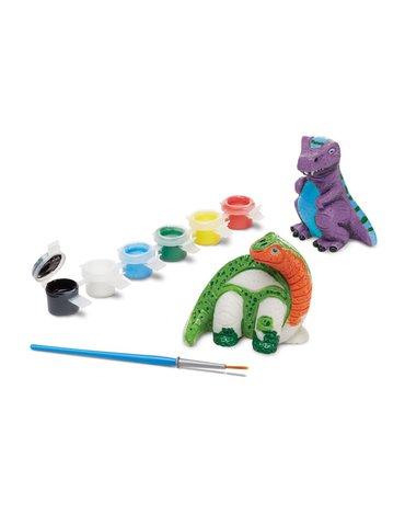 Melissa&Doug® - Dinozaury – figurki do pomalowania – 2szt.