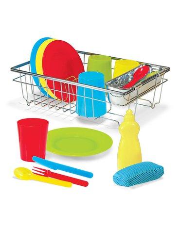 Melissa&Doug® - Zestaw do mycia naczyń z suszarką