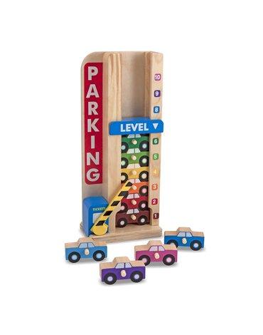 Melissa&Doug® - Wieża parkingowa – Garaż z autkami