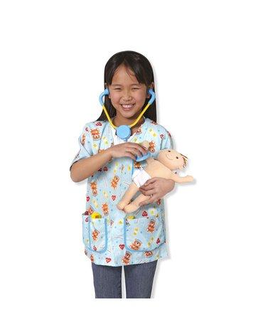 Melissa&Doug® - Przebranie lekarz/pielęgniarka pediatra