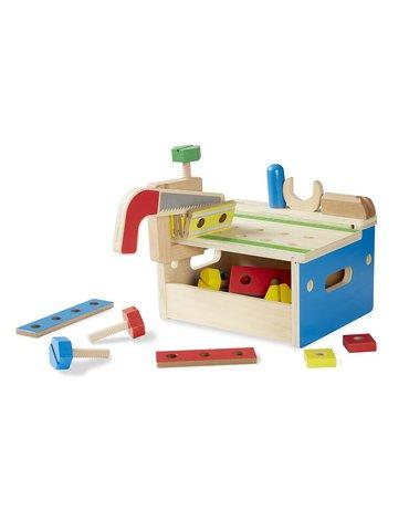 Melissa&Doug® - Warsztat stół stolarski z narzędziami