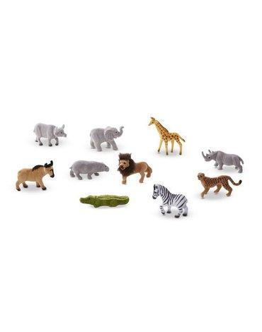 Melissa&Doug® - Safari figurki – zestaw 10 sztuk