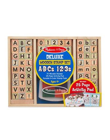 Melissa&Doug® - Stempelki ABC-123 duży zestaw