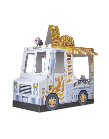 Melissa&Doug® - Wóz z jedzeniem z kartonu