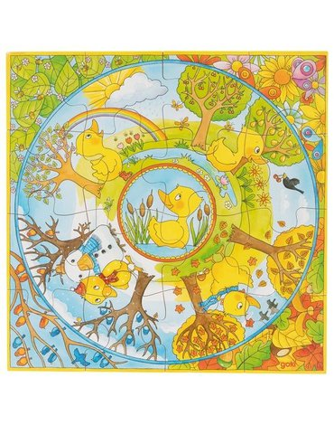 Goki® - Puzzle rok u kaczuszki