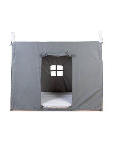 Childhome Poszycie do łóżka Tipi 70 x 140 cm Grey