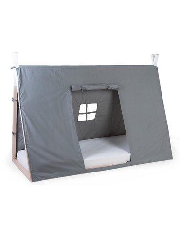 Childhome Poszycie do łóżka Tipi 90 x 200 cm Grey
