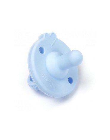 Mimijo - Smoczek silikonowy niebieski