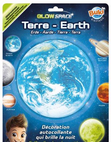 BUKI - Planeta świecąca w ciemnościach ZIEMIA 3DF2