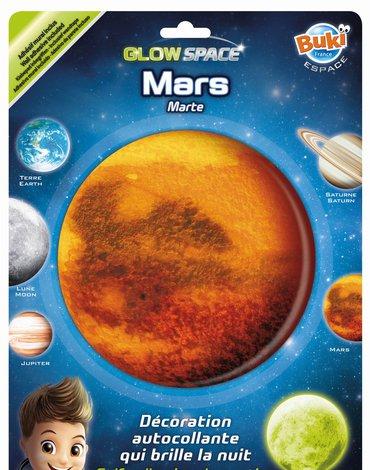 BUKI - Planeta świecąca w ciemnościach MARS 3DF8