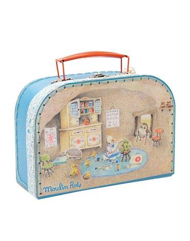 Moulin Roty - Zestaw małego doktora w walizce 632402