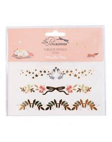 Moulin Roty - Tatuaże bransoletki Les Parisiennes 642556