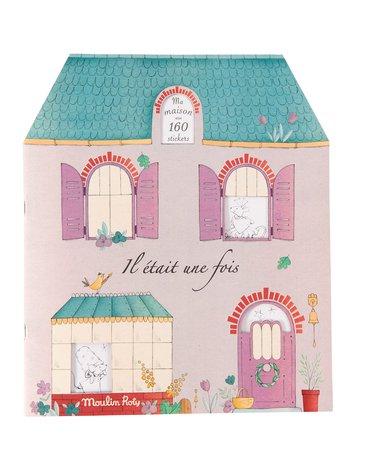 Moulin Roty - Kolor. z naklejkami 20 stron MJ DOM 24x28 711377