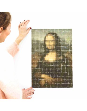 POPPIK - Wyklejanka pikselowa DA VINCI (Mona Lisa)